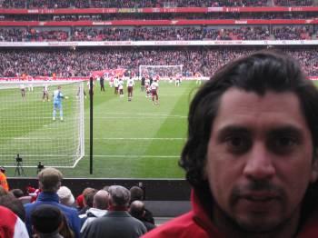 Foto en Emirates  Una tarde en el Emirates (Arsenal Stadium)